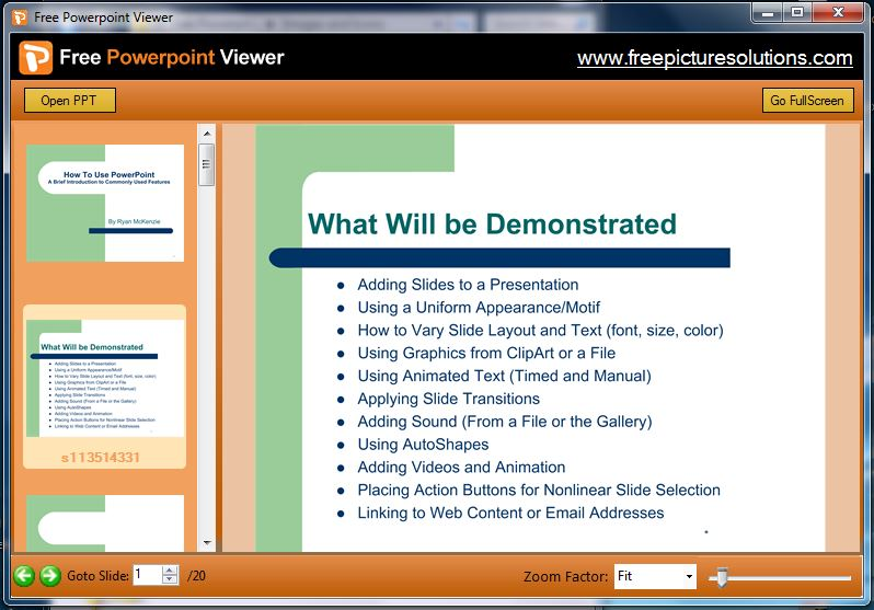 free-powerpoint-viewer