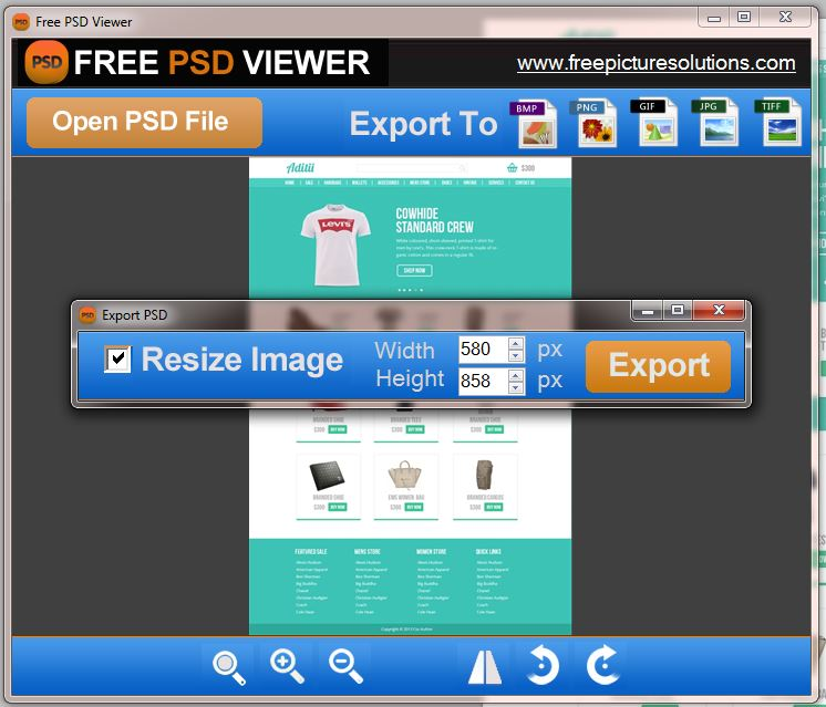 psd to jpg converter free download full version